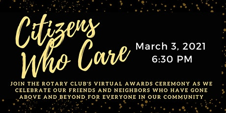 Andover Rotary's Citizens Who Care/EOY/SOY March 2021 Virtual Event tickets