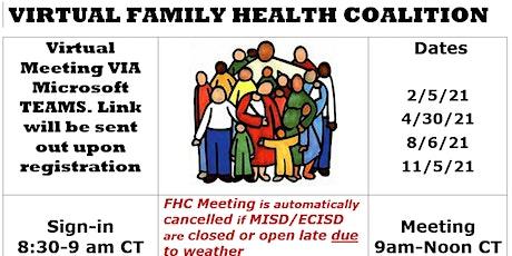 **Virtual** Family Health Coalition tickets
