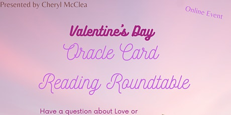 Oracle Card Reading Roundtable -- Valentine's Day tickets