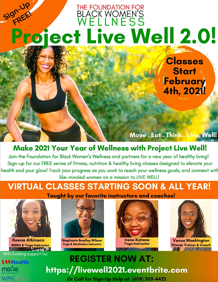 2021 Project Live Well image