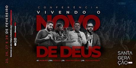 Conferência Vivendo o Novo de Deus tickets