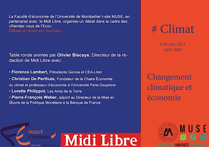 Image pour Changement climatique et économie