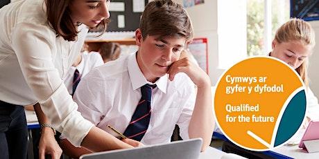 Cymwys ar gyfer y dyfodol: Iechyd a Lles (Sesiwn Cymraeg) tickets