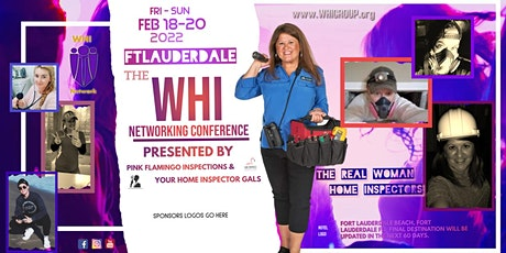 WHIGroup(Woman Home Inspectors) Networking Conference tickets