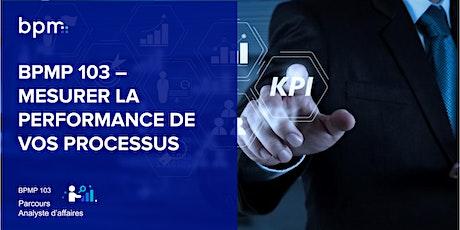 BPMP 103 - Mesurer la performance de vos processus - Méthode ProMeasure® billets
