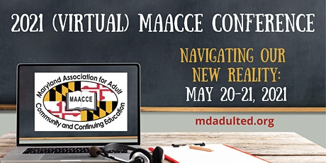 MAACCE 2021 Virtual Conference tickets