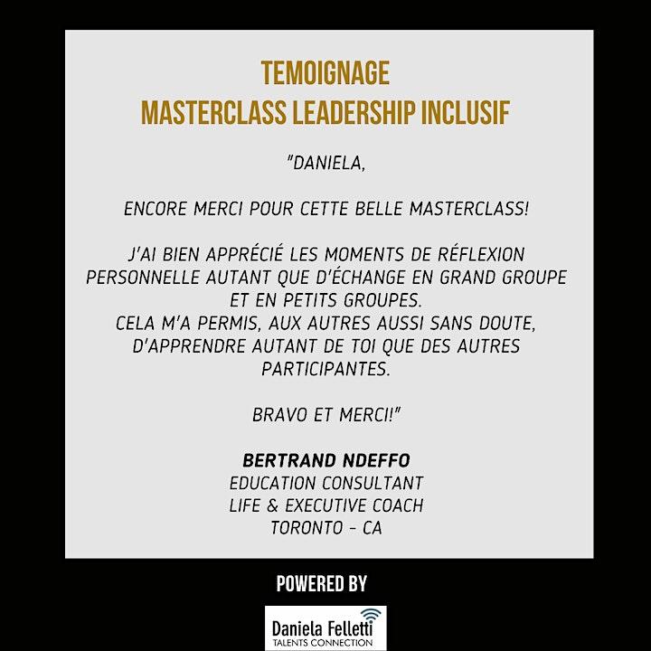 Image pour MasterClass Leadership Inclusif - Apprenez à être un.e leader de l'égalité