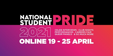 National Student Pride Festival 2021 tickets