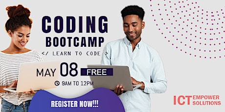 Learn to code bootcamp tickets