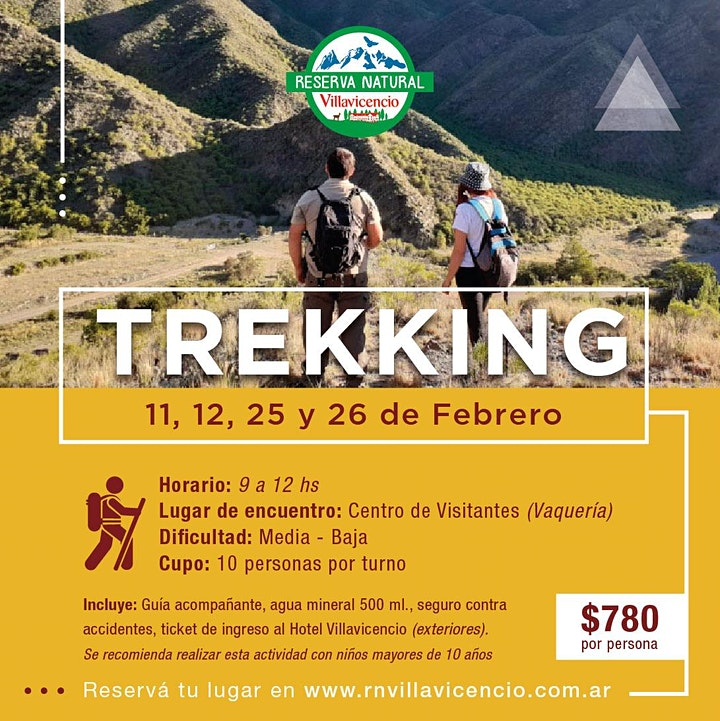 Imagen de Trekking en Reserva Natural Villavicencio