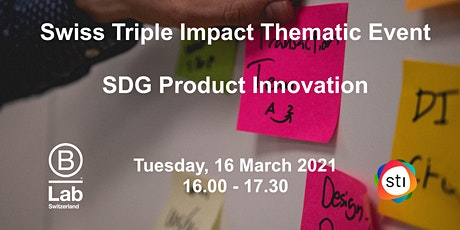SDG Product Innovation - STI Thematic Event tickets