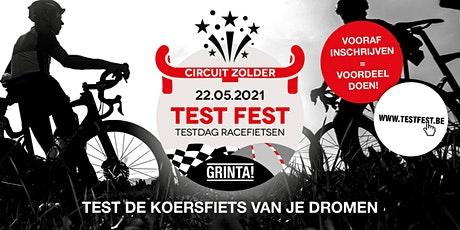 Grinta! TEST FEST Zolder 22 mei tickets