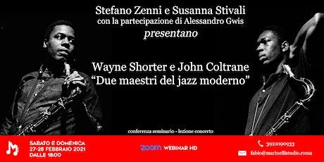 Wayne Shorter e John Coltrane: due maestri del Jazz moderno - Marinelli biglietti