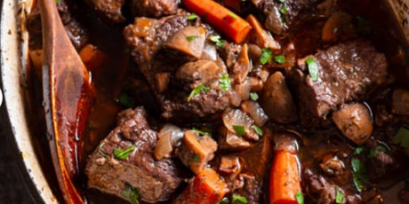 In-Person Class: In the footsteps of Julia Child: Boeuf Bourguignon (DC) tickets