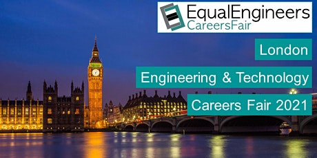 London Engineering & Technology Careers Fair 2021 tickets