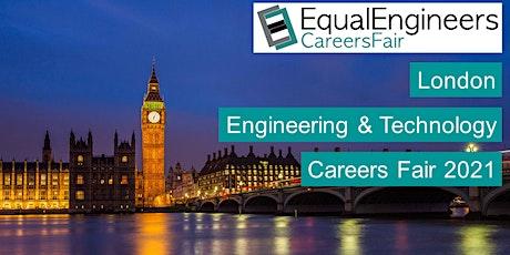 London Engineering & Technology Careers Fair 2021 tickets