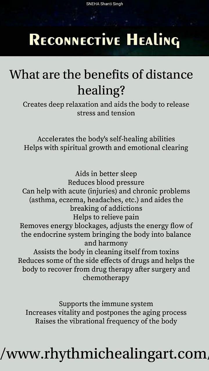 Distance Reiki Healing image