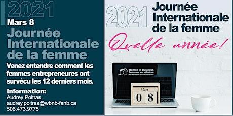 2021  Journée Internationale de la Femme - Table ronde billets