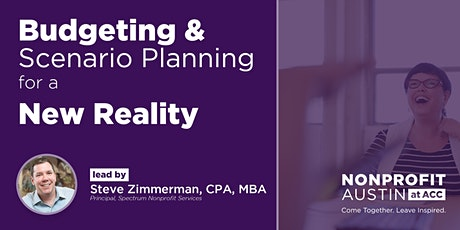 Budgeting & Scenario Planning for a New Reality tickets