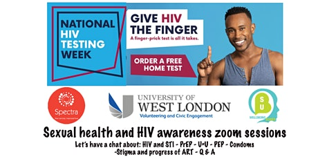 Sexual health and HIV awareness tickets