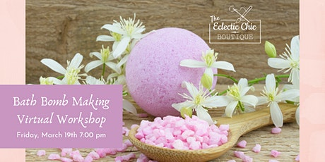 Bath Bomb Making Virtual Workshop tickets