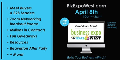 BESThq's Business Expo West 2021 tickets