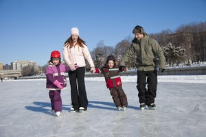 Join us in a traditional Canadian Winter Activity: Ice Skating & Tim Hortons!
