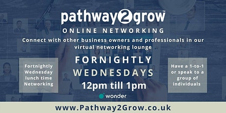 Pathway2Grow Online - Free Virtual Networking Event tickets