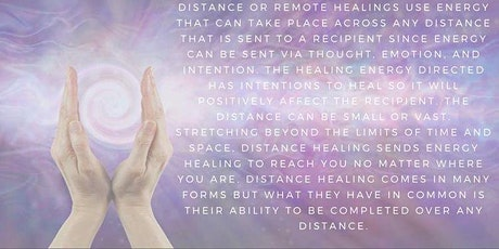 Distance Reiki Healing tickets