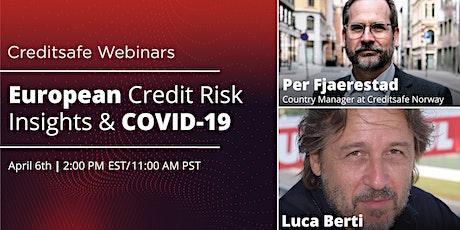 Webinar: European Credit Risk Insights & COVID-19 tickets