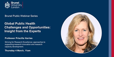 Global Public Health Challenges and Opportunities: Insight from the Experts tickets