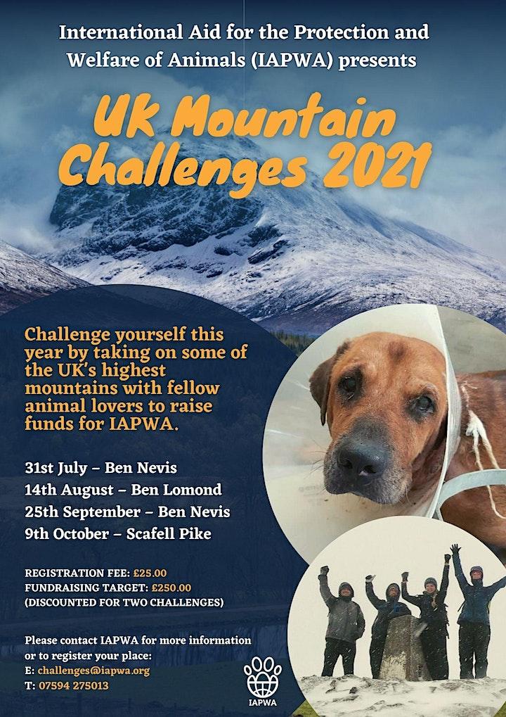 Ben Nevis  climb - with IAPWA image
