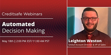 Webinar: Automated Decision Making tickets