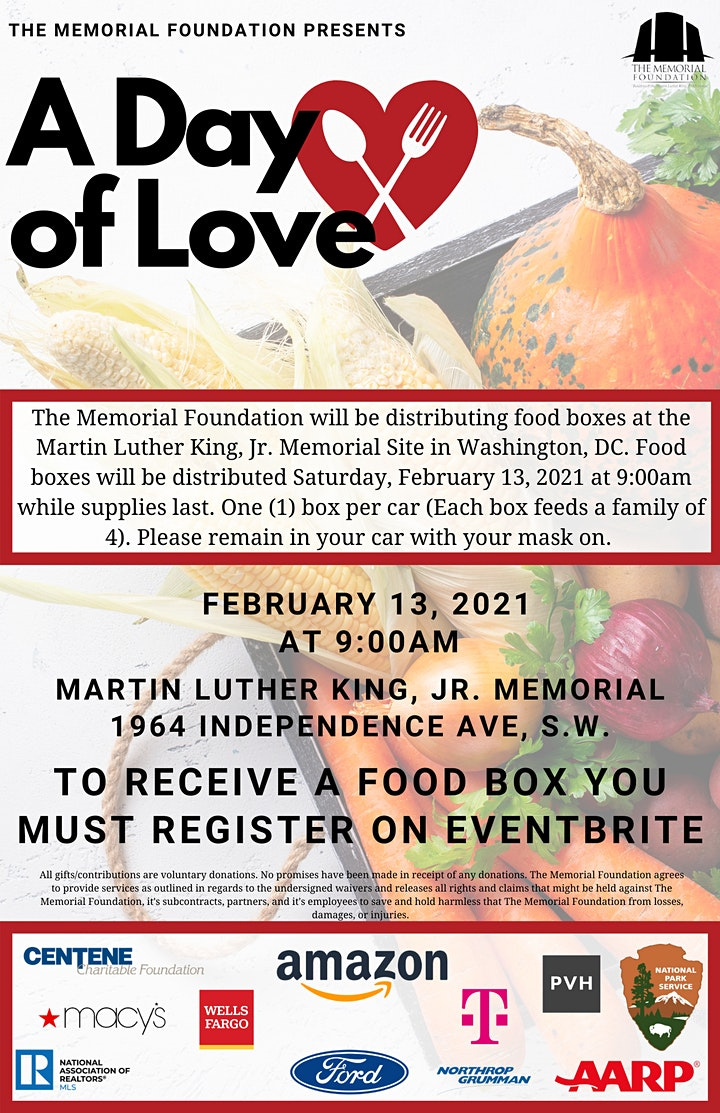 A Day of Love: Food Distribution image