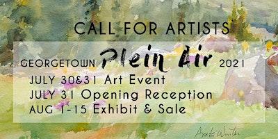 Georgetown Plein Air 2021: Call for Artists