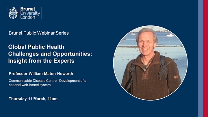 Global Public Health Challenges and Opportunities: Insight from the Experts image