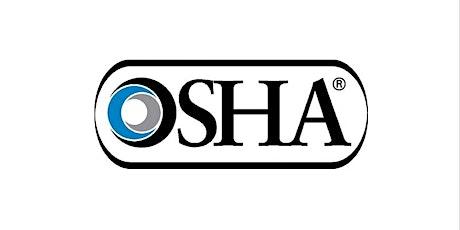 OSHA 30-Hour tickets
