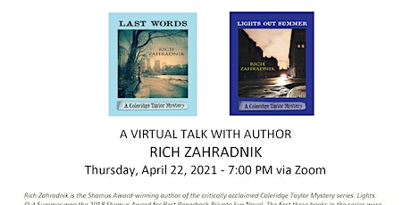 RICH ZAHRADNIK VIRTUAL AUTHOR VISIT tickets