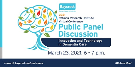 Public Panel Discussion: Innovation and Technology in Dementia Care tickets