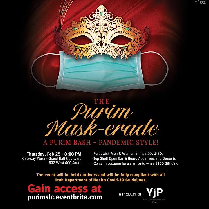 The Purim Mask-erade image