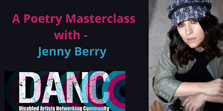 Poetry Masterclass with Jenny Berry tickets
