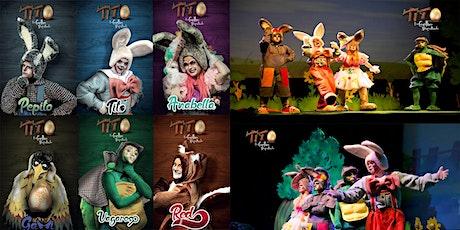 Tito, um coelho atrapalhado 2021 - Teatro Musical Infantil ingressos