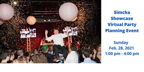Simcha Showcase VIRTUAL Party Planning Event tickets