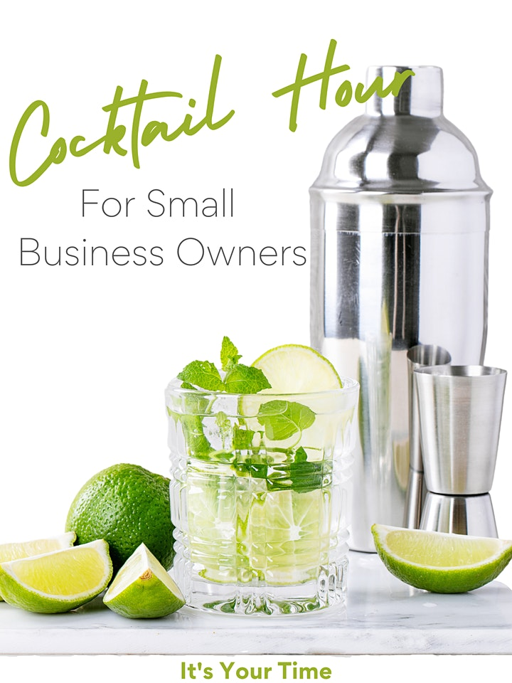Copy of Cocktails & Zoom for Small Business Owners image