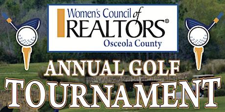 Annual Golf Tournament Women's Council of REALTORS Osceola County tickets