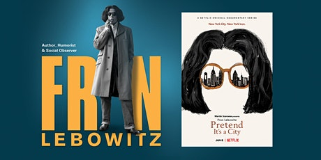 AMPLIFIED: Fran Lebowitz tickets