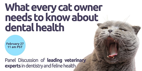 Cat Dental Health Panel by Leading US Veterinary Experts tickets