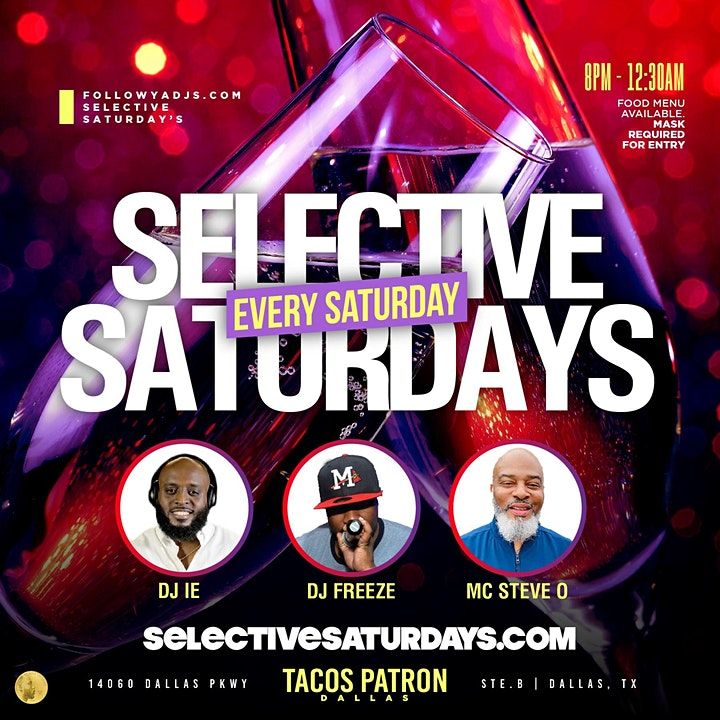 Selective Saturdays image