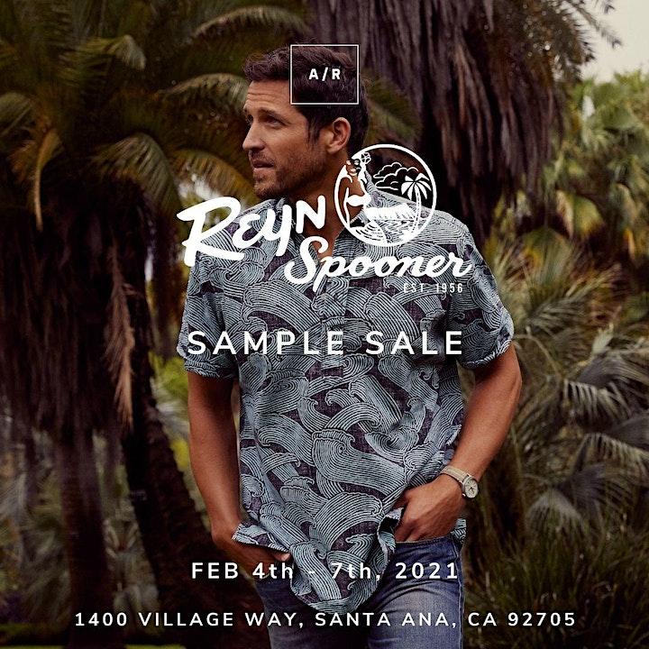 Reyn Spooner Sample Sale - Santa Ana, CA image