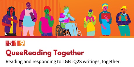 QueeReading  Together: Reading and responding to LGBTQ2S writings together tickets